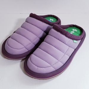 sanuk puff n chill low slippers